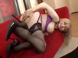 breasty golden-haired nina hartley still looks