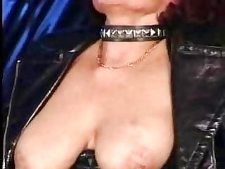 sexy pierced granny sucks and fucks