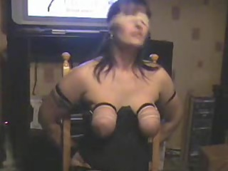 tit whipping my floozy wife