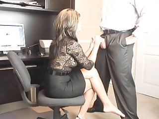 hawt milf office oral