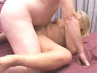 golden-haired milf acquires a good shagging