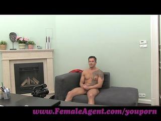 femaleagent. mother i cums all over guys schlong