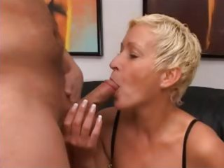 blond aged having pussy fisted hard