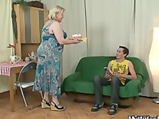 slutty granny seduces her son in law