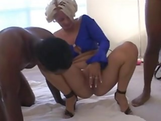 white wife creampied by darksome fellows