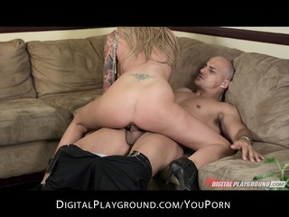 big-tit golden-haired milf brooke banner gives an